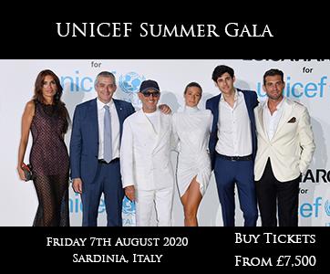 UNICEF Summer Gala