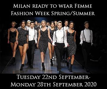 Milan Women's Fashion Week Spring Summer