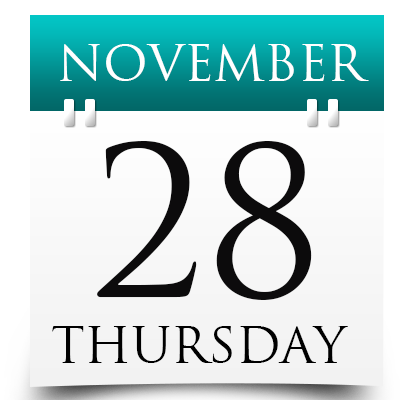 Thursday 28th November 2019
