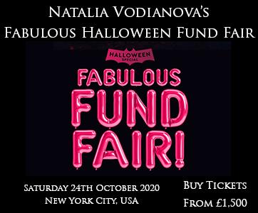 Natalia Vodianova's Fabulous Halloween Funfair
