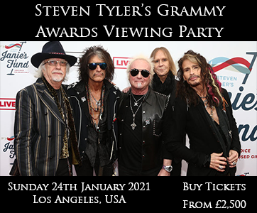 Steven Tyler's Grammy Awards Viewing Party