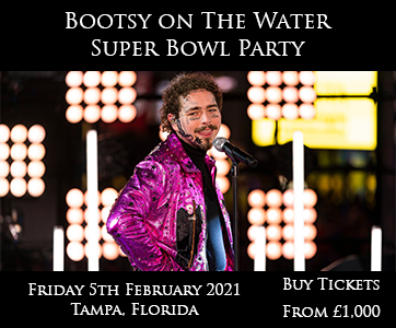 Super Bowl Bootsy on Water