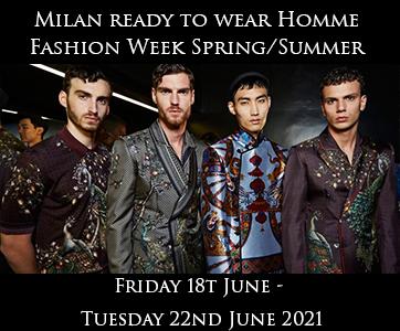 Milan Men's Fashion Week Spring Summer 2020